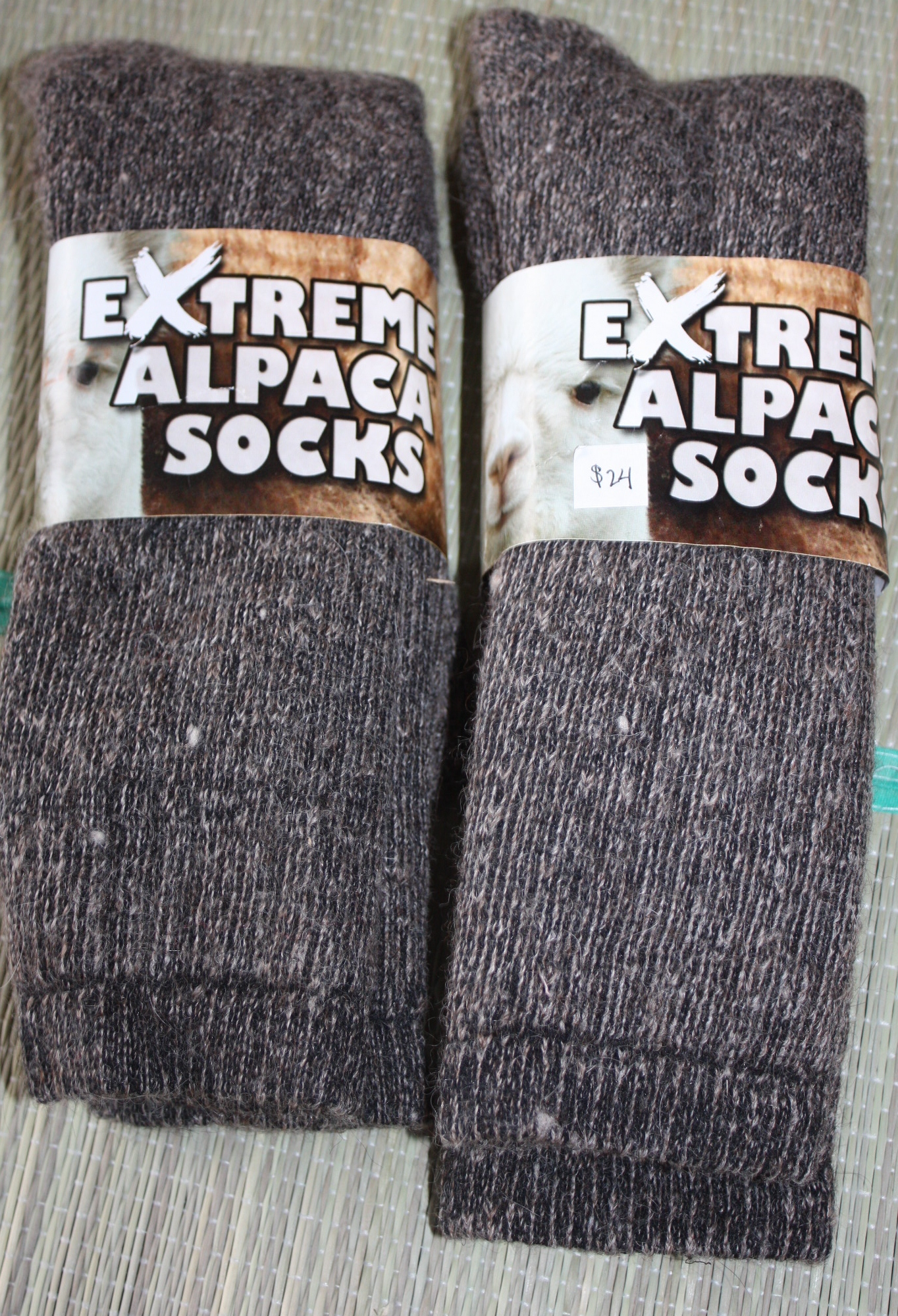 eb3080ca20547 Thick warm socks made from a high alpaca count blend (this allows the sock  to maintain shape). Perfect for winter time! Alpaca is warmer than wool and  ...